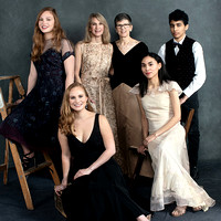 Vanity Fair Style Mothers and Daughters Portrait